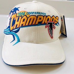 NWT 1998 Conference Champions Falcons Official Hat